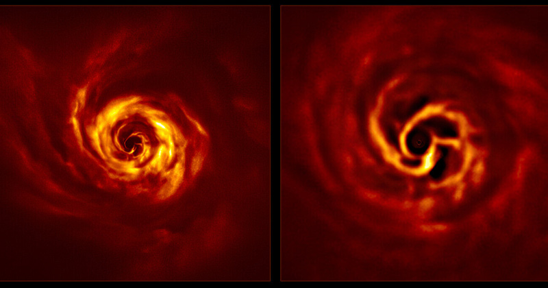 Very Large Telescope sees signs of planet birth