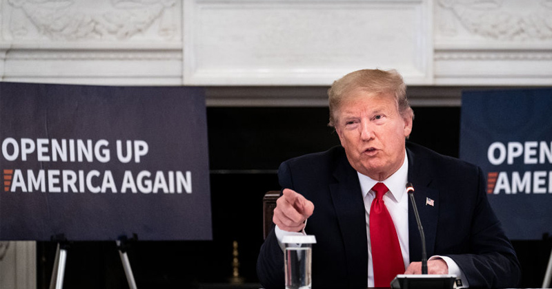 President Trump Declares War on Communist Chinese Evil