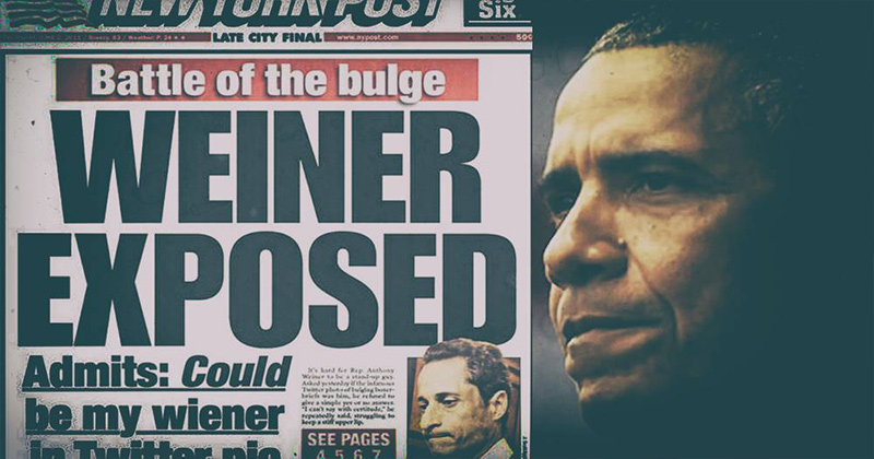 OBAMAGATE: All Roads Lead To Weiner's Laptop