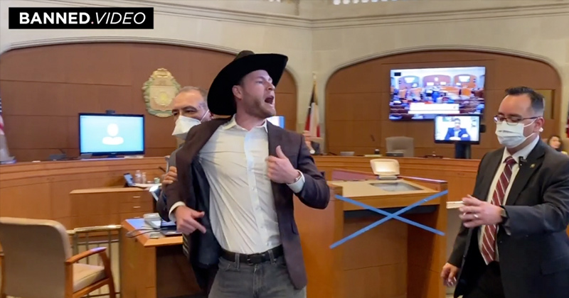 Owen Shroyer Kicked Out Of San Antonio City Hall For Standing Up To Mayor