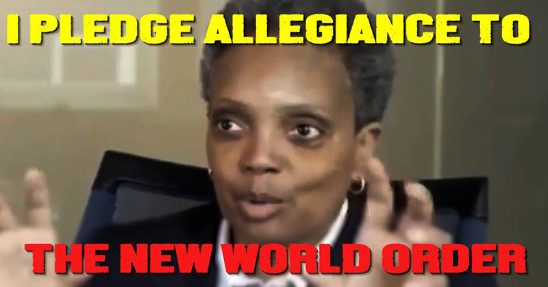 I Pledge Allegiance To The New World Order - Exclusive Video