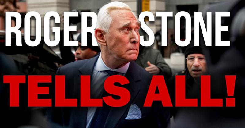 Roger Stone Tells All! - Watch
