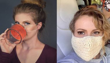 Alyssa Milano's Guide to Mask Wearing
