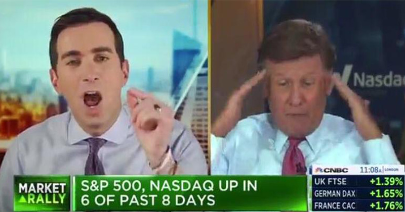 CNBC Scandal: Watch As Raging Screamfest Erupts Between Kernen, Sorkin Over Coronavirus
