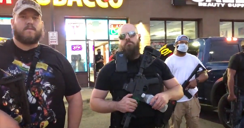 Armed Citizens Stand With MN Protesters, But Defend Stores From Looters