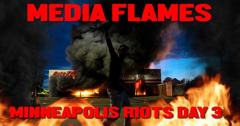 Media Flames Race Riots in Minneapolis