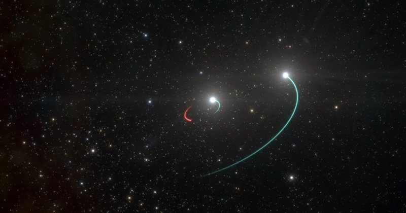 Closest Black Hole to Earth Discovered