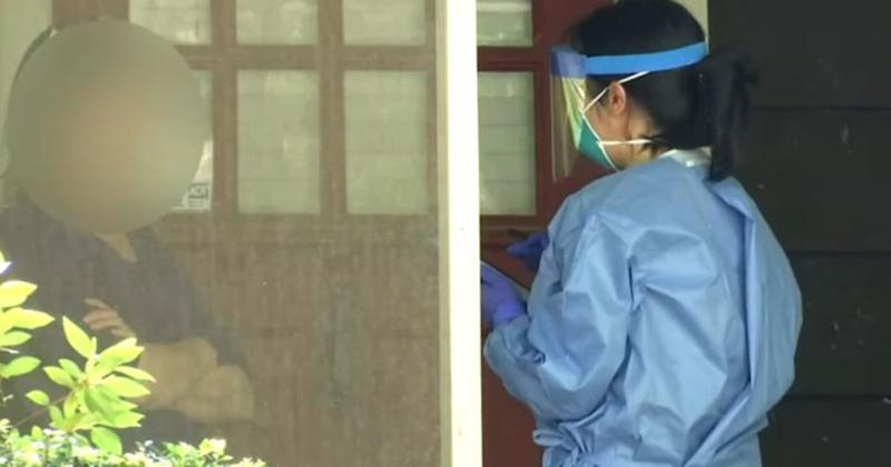 VIDEO: CDC Goes Door to Door Conducting Questionnaires, Virus Antibody Testing