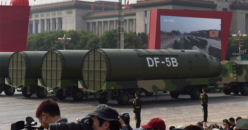 China Should TRIPLE Nuclear Arsenal to Deter US, Editor of State-Run Newspaper Argues