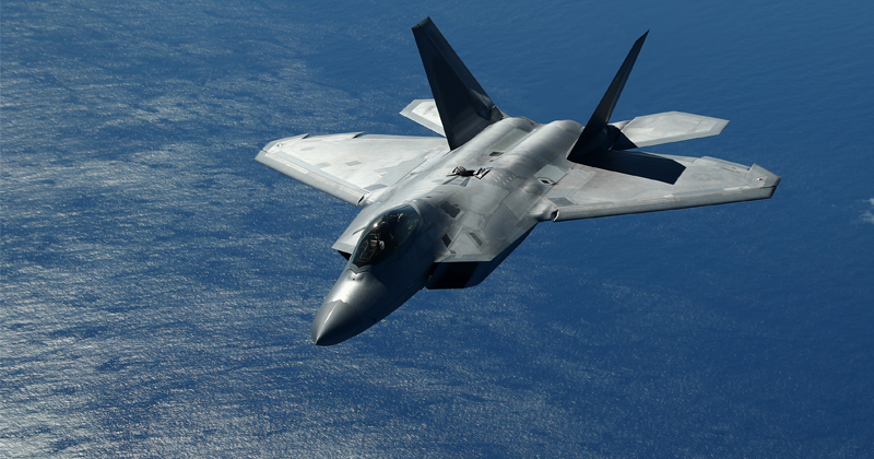 F-22 Fighter Jet Crashes in Florida, Air Force Says