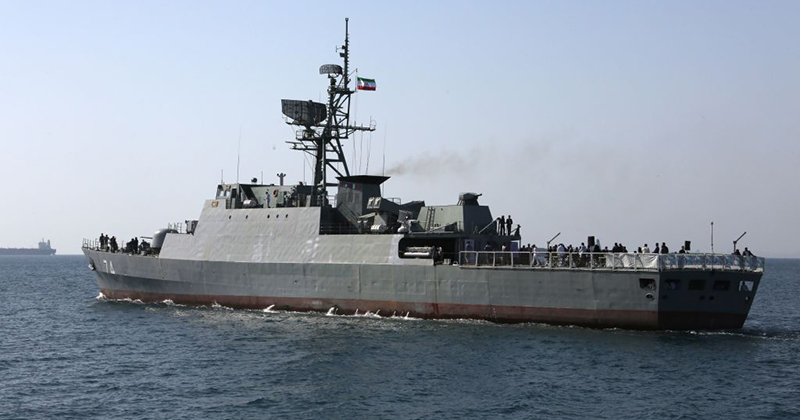 19 Killed & 40 Missing Or Wounded After Iranian Destroyer Mistakenly Fires On Own Warship