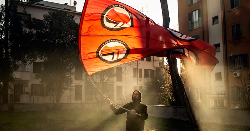 French Police Raid Alleged Far-Left Antifa Bomb Factory HQ