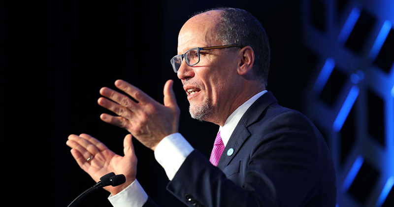 DNC Chair Perez: Trump's Vote-by-Mail Opposition a 'Desperate Effort to Steal an Election'