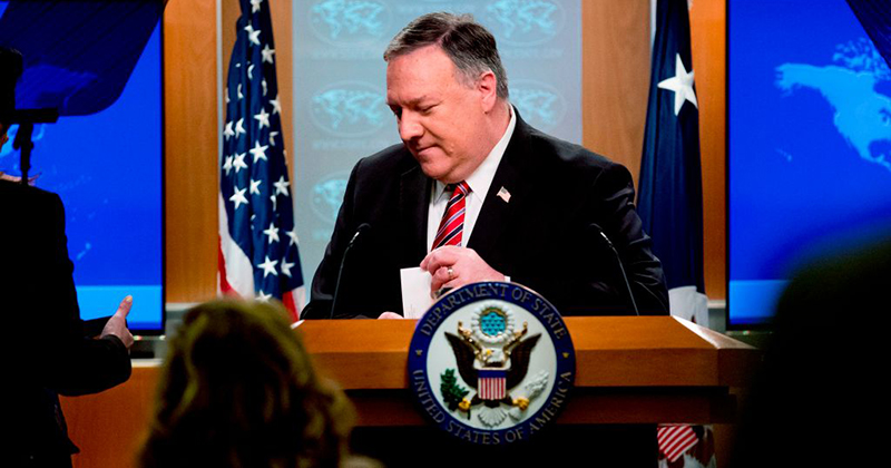 Pompeo: WHO Leader Went To China, Didn't Declare Pandemic Until Everyone Knew