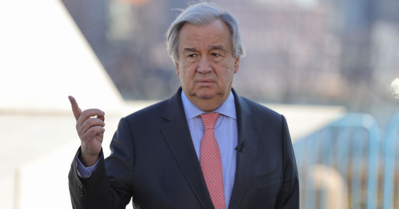 UN Chief Calls for Social Media To Censor 'Racist, Misogynist,' Ageist, and 'Harmful' Memes
