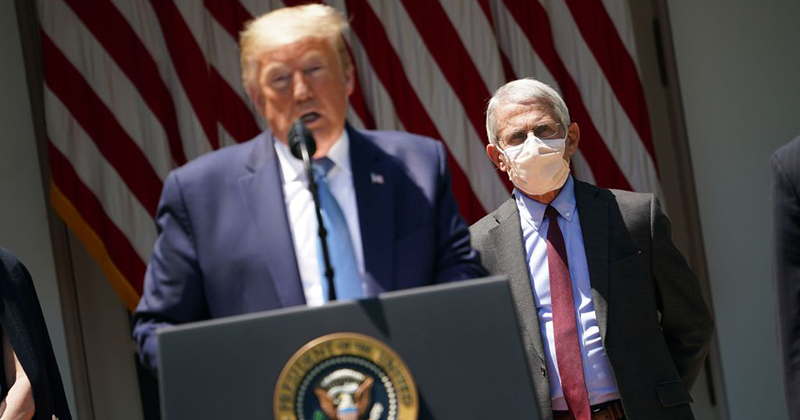 Fauci Says He Wears Face Mask As A 'Symbol Of What You Should Be Doing'