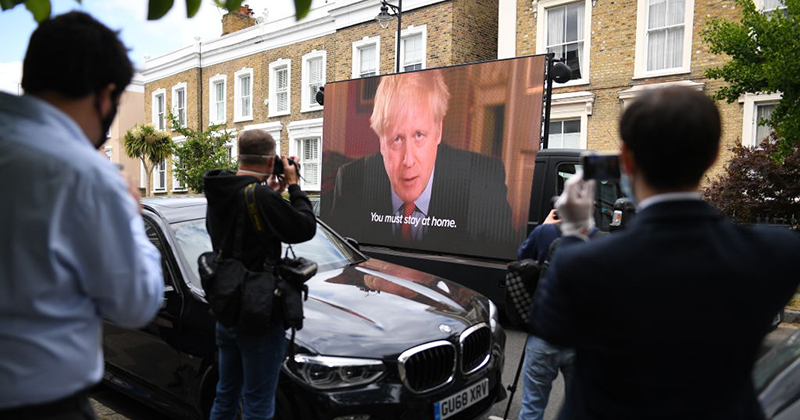 #BooForBoris: British Left Organises Anti-Johnson Two Minutes Hate