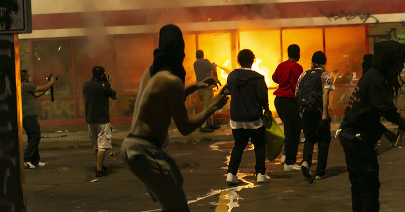 VIDEO: Minneapolis Rioters Protest Police Racism By Vandalizing And Looting Target Stores