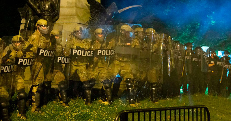 Riots Erupt From Coast To Coast; Curfews Imposed; Stores Looted; D.C. Activates National Guard