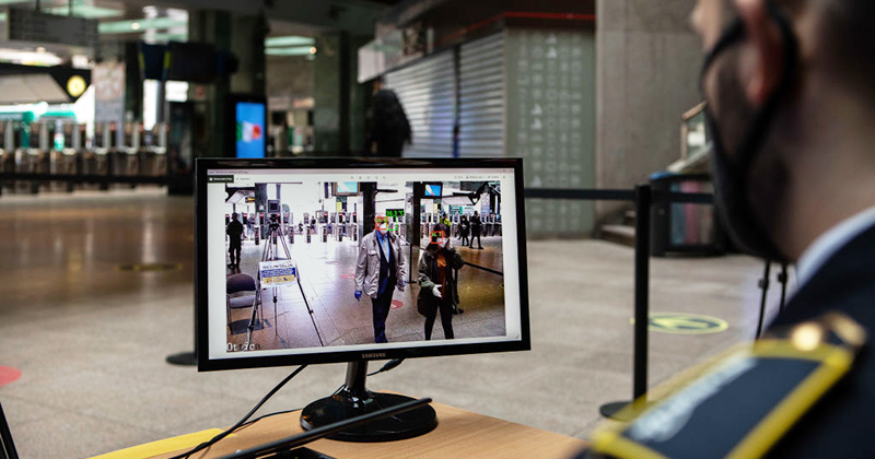 Report: France Will Use Existing Surveillance Grid To Enforce Social Distancing, Mask Wearing