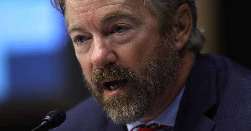 "Rand Paul: Biden Has Been ""Caught Red-Handed"" Abusing Spy Powers"