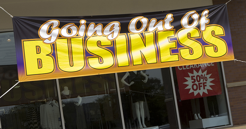 """According To A Shocking New Survey, 52% Of Small Businesses """"Expect To Be Out Of Business Within Six Months"""""""