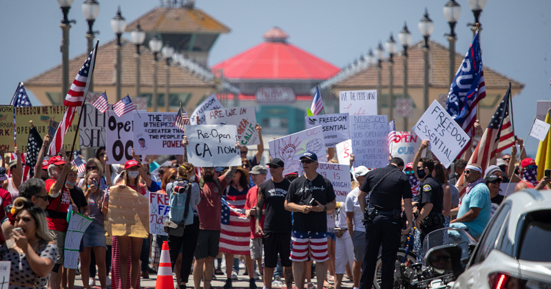 Protests Across California Show You Can Only Push People So Far