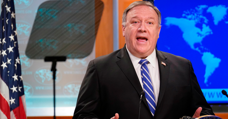 """Pompeo Not Yet Releasing """"Significant Evidence"""" Virus Came From Chinese Lab"""