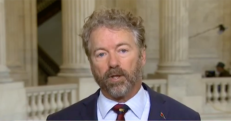 Rand Paul: 'Reopen The Economy, No More Imaginary Money'