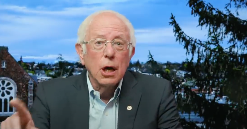 "Sanders: Coronavirus ""Silver Lining"" Is That It Can Change ""Fundamental Tenets"" Of America"