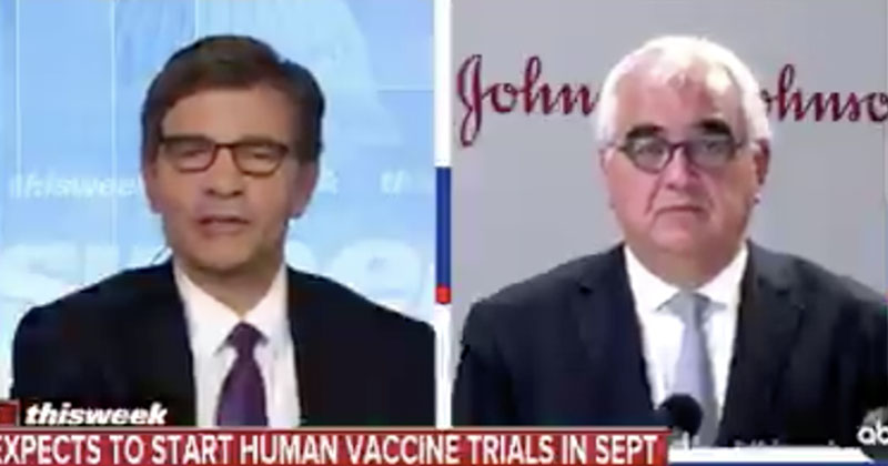 JOHNSON & JOHNSON SAYS IT HOPES TO DELIVER 1 BILLION CORONAVIRUS VACCINES NEXT YEAR Abcvaccine23896
