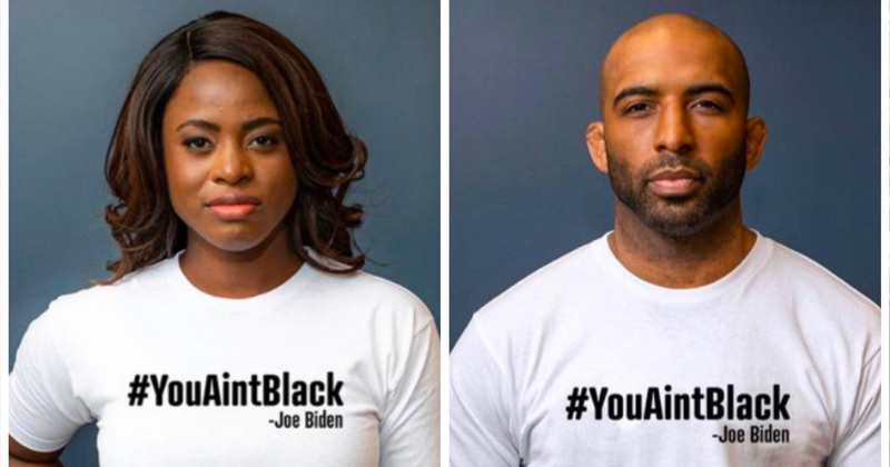 Fact Check: CBS Commentator Suggests Models for Trump's #YouAintBlack Shirt Wouldn't Vote For Him