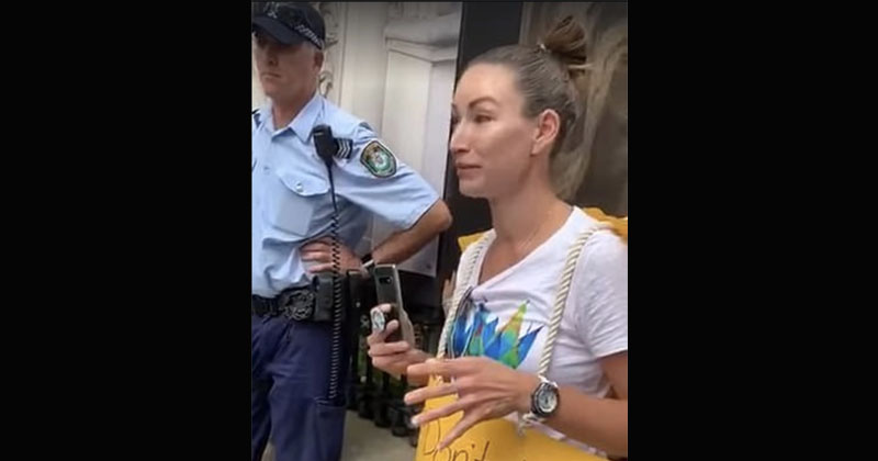 VIDEO: Australian Police Rip Terrified Child From Mother For Protesting Lockdown