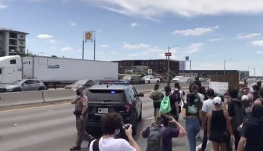 Live: Infowars Reporters Attacked Covering Austin Protests, Mob Blocks Major Highway