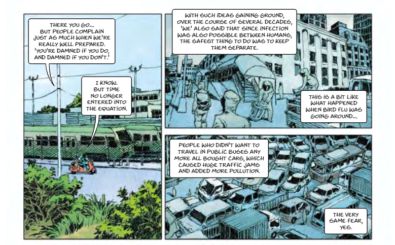 Bizarre EU Funded Comic Book Predicted Pandemic, With Globalists As Saviours Caartoon1