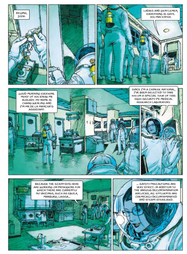 Bizarre EU Funded Comic Book Predicted Pandemic, With Globalists As Saviours Cartoon3