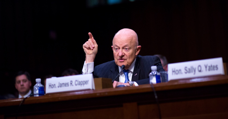 Clapper Admission Torpedoes Dem Push to Revive Trump-Russia Conspiracy