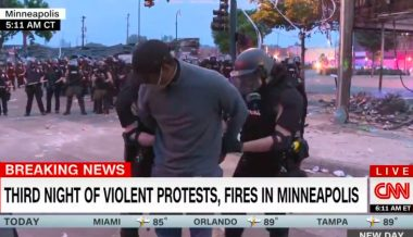 Watch: CNN Crew Arrested While Covering Minneapolis Riot
