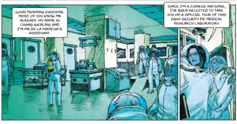 Bizarre EU Funded Comic Book Predicted Pandemic, With Globalists As Saviours