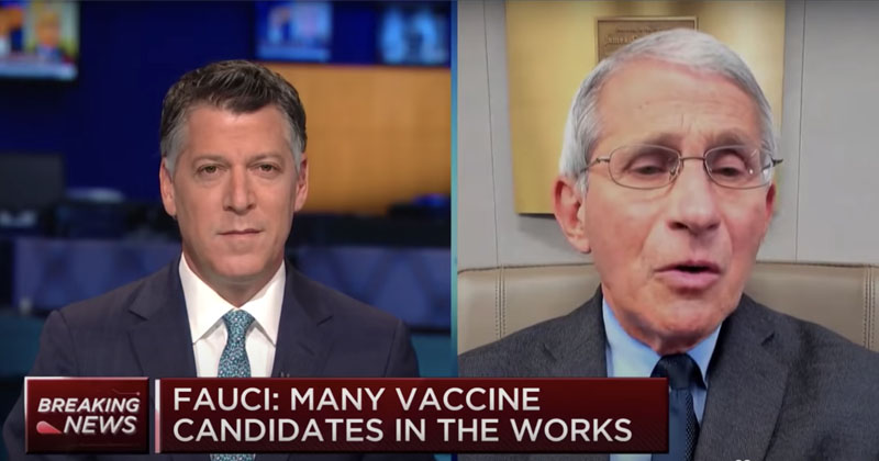 Fauci About-Face: 'Prolonged' Lockdowns Not The Way To Go