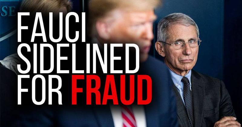 BREAKING! President Trump Sidelines Fauci For Fraud