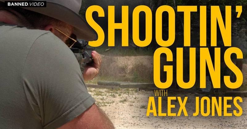 Alex Jones Channels Bill Gates At Shooting Range