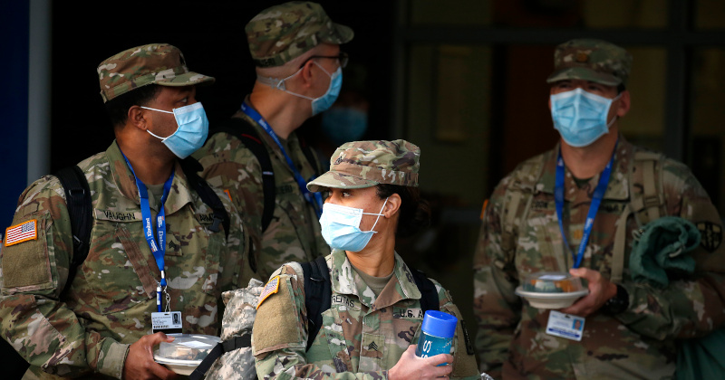 Coronavirus Survivors Soon 'Permanently Disqualified From Joining US Military'