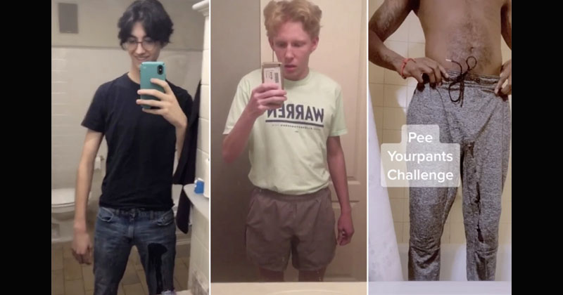 WTF: Zoomers Pee Their Pants In Sick New Social Media Challenge