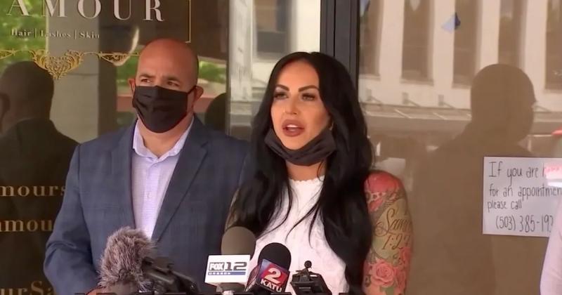 Salon Owner Gets CPS Visit After Defying Oregon Lockdown Orders