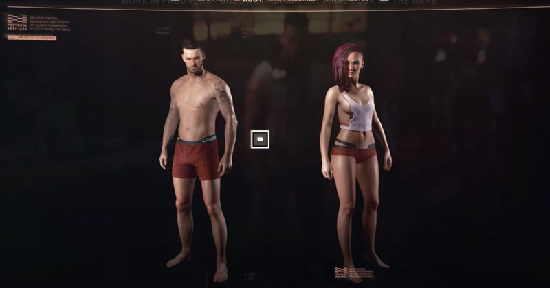 Video Game To Allow Customized Genitals In Non-Binary Gender Option