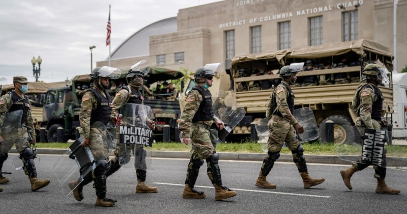 Poll Finds Clear Majority of Americans Want Military to Help Police Deal With Riots