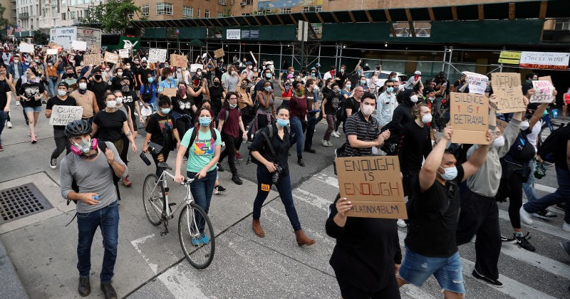 """Top NYC Health Official Says """"Racism"""" Will be to Blame for Spike in COVID, Not Thousands of Demonstrators Gathering in Close Proximity"""