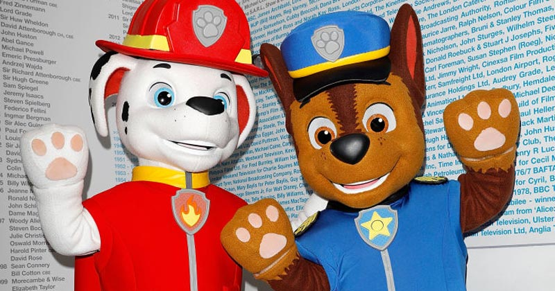 SJWs Demand Removal of Cartoon Police Dog From Paw Patrol