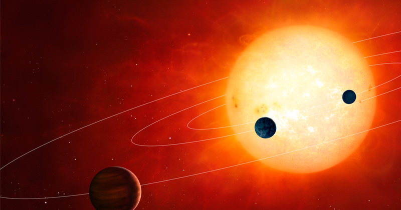 Young giant planet offers clues to formation of exotic worlds